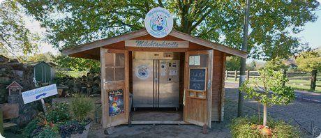 Milchtankstelle in Niederrhein