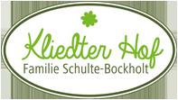 Kliedter Hof - Familie Schulte-Bockholt - Logo